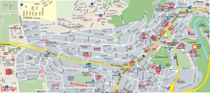 Карта на град Велико Търново